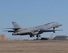 Upgraded B-1 bomber