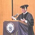 General Alexander addressing NIU grads