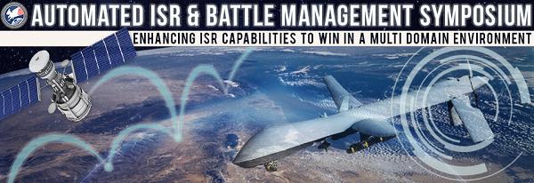 DSI announces 7th annual Automated ISR & Battle Management Symposium