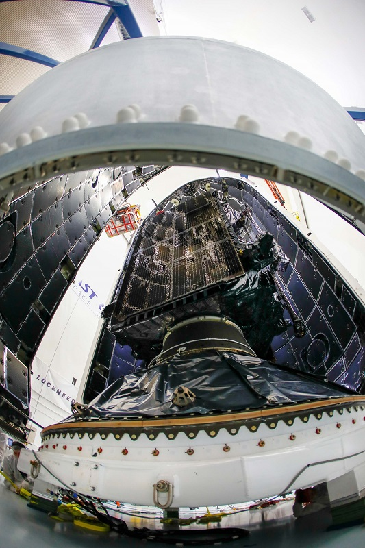 First Lockheed Martin-built GPS III satellite readies for launch