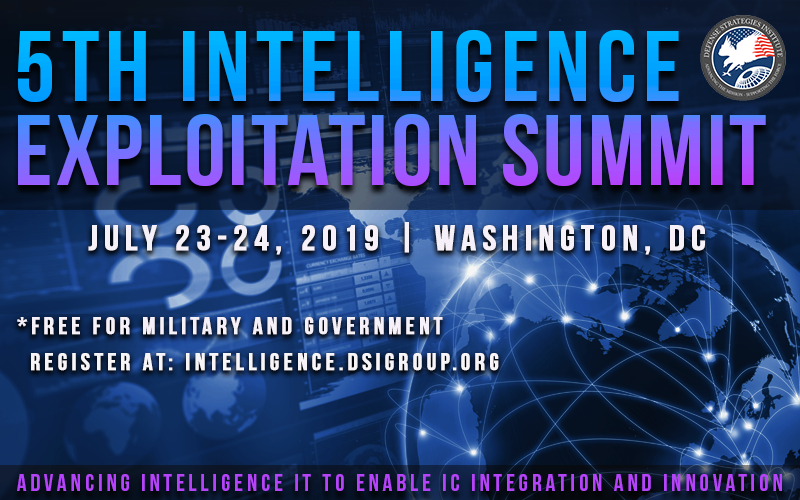DSI to hold Intelligence Exploitation Summit July 23 and 24