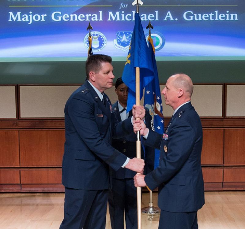 USAF Major General Michael Guetlein becomes NRO deputy director