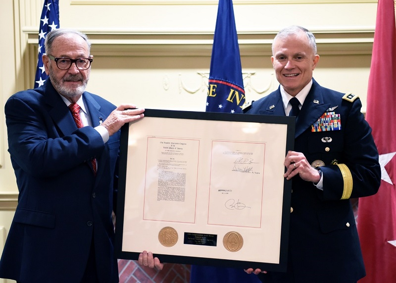 DIA receives OSS Congressional Gold Medal