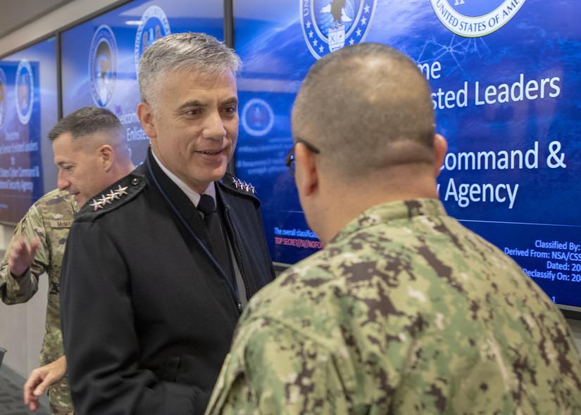NSA hosts senior enlisted leaders