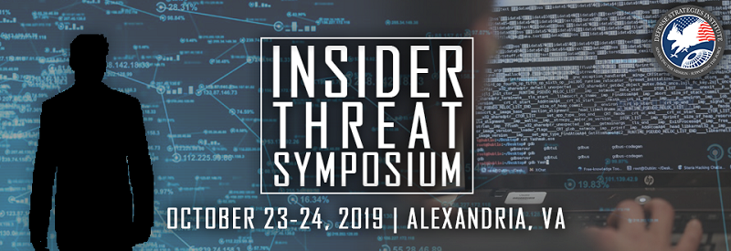 Defense Strategies Institute presents 4th Insider Threat Symposium