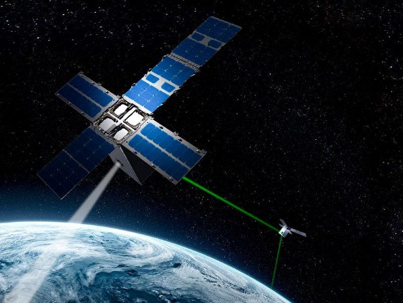 General Atomics demos optical intersatellite link